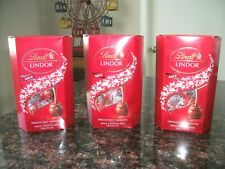3 Boxes Lindt Lindor Milk Chocolate Truffles 8.5 ounce Exp: 02/21 Free Shipping