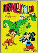 DISNEY COLOR de Walt Disney tomo 5. Ed. Toray, 1982.