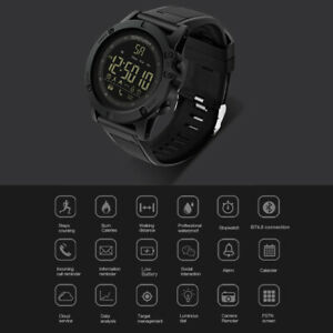 Men Outdoor LCD Digital Smart Sport Watch Pedometer Wrist Watch for iOS/Android