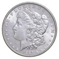 Unc Uncirculated 1889 Morgan Silver Dollar - $1.00 Mint State MS BU