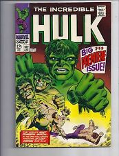 The Incredible Hulk #102 FN/F+ Silver Age Marvel Comics