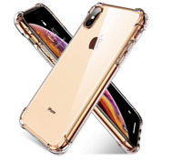 iPhone XS Max Clear Case Protective Cover Shockproof Hybrid Bumper Transparent