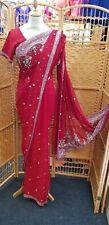 Indian Saree Sari Bollywood wear Traditional Style Designer Fancy Wedding