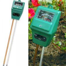 3 In 1 Hydroponic Soil Moisture Light Ph Meter Test Garden Accessories Soil Test