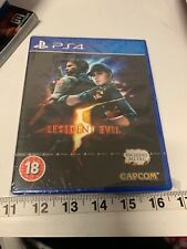 Resident Evil 5 HD Remake PS4 BRAND NEW SEALED IN BOX