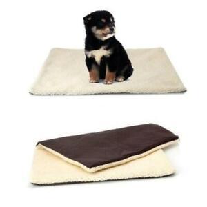 Self Heating Dog Cat Pet Bed Mat Thermal Radiator Heated Pad Washable Kitten UK