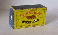 Repro Box Matchbox 1:75 Nr.03 Bedford Tipper Truck älter