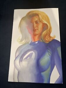 FANTASTIC FOUR #24  ALEX ROSS VIRGIN TIMELESS VARIANT 1 INVISIBLE WOMAN