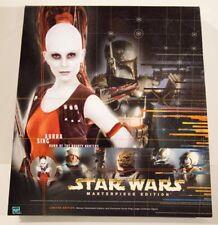"Star Wars 12"" 1/6 scale figure Masterpiece Edition Aurra Sing with book MISB"