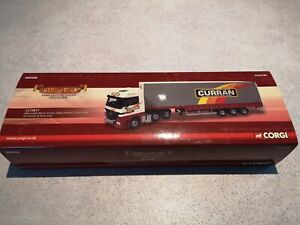 1/50 Corgi D Curran & Ltd Mercedes Actros and Stepframe Curtainside Trailer