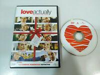 Love Actually Hugh Grant Liam Neeson Emma Thompson DVD + Extras Español English
