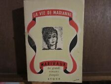 MARIVAUX.; La vie de Marianne; avec la SUITE DE MARIANNE/ Madame Ricoboni