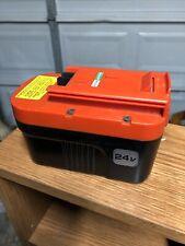 Black & Decker 24 Volt Battery HPNB24 Oem Original Genuine
