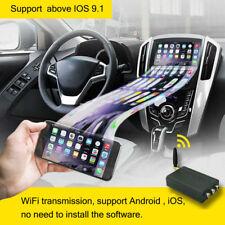 Car Miracast Airplay Android IOS Mirror Link Box WiFi HDMI Display Phone Screen