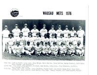 1976 WAUSAU METS 8X10 TEAM PHOTO NEW YORK O'NEILL BODIE  BASEBALL USA