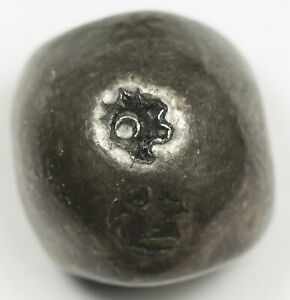 Thailand 1824-1851 15.1 Gram Silver Bulllet Baht Coin VF RAMA III Prasat