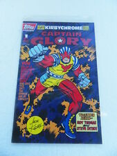 Captain Glory 1 of 1 . J. Kirby cov.W/ Card .S.Ditko - Topps . 1993 -  NM- minus