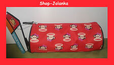 PAUL FRANK - Schlampermäppchen / Pencil Case/ Cosmetics Case - rot