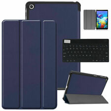 Navy For LG G Pad 5 10.1 FHD 4G 2019 Tablet Keyboard Slim Leather Case Cover US