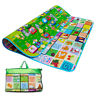 KIDS CRAWLING SOFT FOAM EDUCATIONAL GAME PLAY MAT PICNIC 2 SIDE CARPET 200X180CM