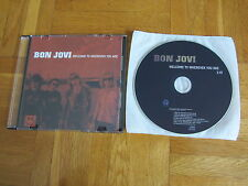 BON JOVI We Welcome To Wherever You 2005 HOLLAND collectors CD single acetate