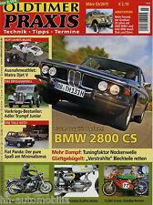 Oldtimer Praxis 2011 3/11 BMW 2800 CS Motobi 250 Matra Djet V ARO M461 Gold Wing