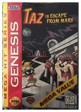 Taz in Escape From Mars (Sega Genesis, 1994) BRAND NEW SEALED - FREE U.S. SHIP