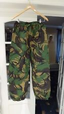 """British Army DPM MVP Gore-Tex Waterproof Overtrousers Size 75/80/96 (29.5""""/29"""")"""