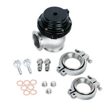 Aluminium Wastegate 38MM With V-Band External Manifold Exhaust FLanges Black US