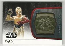 Star Wars JTTFA Heroes Of The Resistance Chase Card R-6 C-3PO