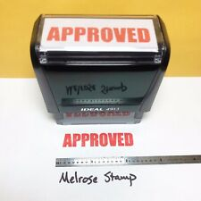 New Listingapproved Rubber Stamp Red Ink Self Inking Ideal 4913