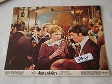 1969 JOHN AND MARY Hoffman Mia Farrow Movie Lobby Card Press Photo 8 x 10 D