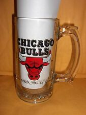 1991 Chicago Bulls NBA CHAMPS Champions Glass mug 1st Championship