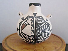 VINTAGE ACOMA POTTERY BY LOUIS NADINE MANSFIELD,  ACOMA, NM