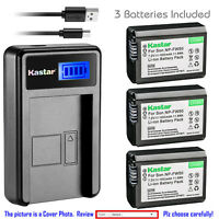 Kastar Battery LCD Charger for Sony NP-FW50 BC-TRW & Sony ILCE-6000 Alpha a6000