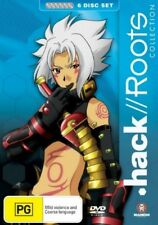 Hack//Roots Collection (DVD, 2008, 6-Disc Set) Region 4 Like New
