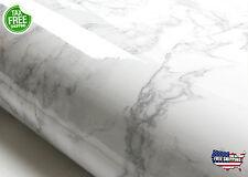 Grey Granite Look Marble Effect Contact Paper Film Vinyl Self Adhesive Easy Use