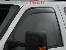 WeatherTech Window Deflectors - Ford Super Duty Regular Cab - 1999-2016 - Dark