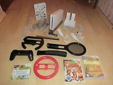Nintendo Wii Weiß, umfangreiches Megaset, 2Fernbedienungen, 4Spiele, 1J.Garantie