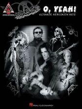 Aerosmith O Yeah Learn to Play Pop Rock Guitar TAB Music Book
