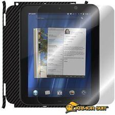 ArmorSuit MilitaryShield HP TouchPad Screen Protector + Black Carbon Fiber Film