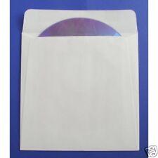 50 enveloppes blanches Spéciales Cd/dvd sans Fenêtre