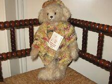 Cuddy Lugs UK Fiona Mohair Hunch Back Bear OOAK
