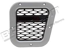 LAND ROVER DEFENDER XS AIR INTAKE GRILLE SILVER WITH BLACK MESH RIGHT DA1971