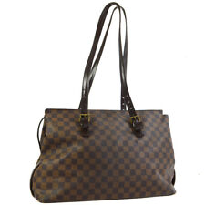 LOUIS VUITTON CHELSEA SHOULDER TOTE BAG PURSE DAMIER N51119 bo 31049