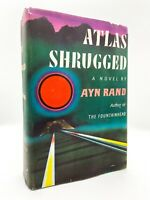 Atlas Shrugged – FIRST EDITION – 1st Printing – First Issue DJ – Ayn RAND 1957