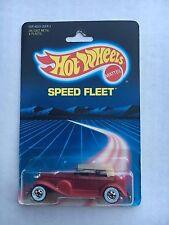 1986 Hot Wheels 31 Doozie on Speed Fleet Card #2533  Combine Shipping