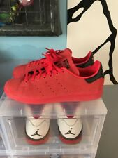 Adidas Stan Smith Size 9.5 Red Suede