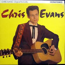 "LP 10"" / CHRIS EVANS  / ROCKABILLY / RARITÄT / ORIGINAL /"