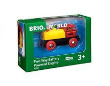 Brio 33594 Gelbe Batterielok für die Holzeisenbahn